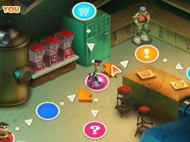 Игры черепашки ниндзя блок пати игра имена актрис сериала папины дочки